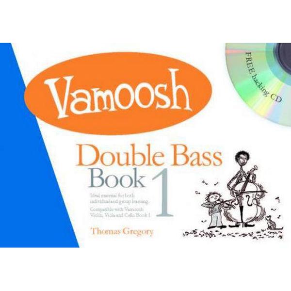 Vamoosh Double Bass Book 1 (Book & CD)