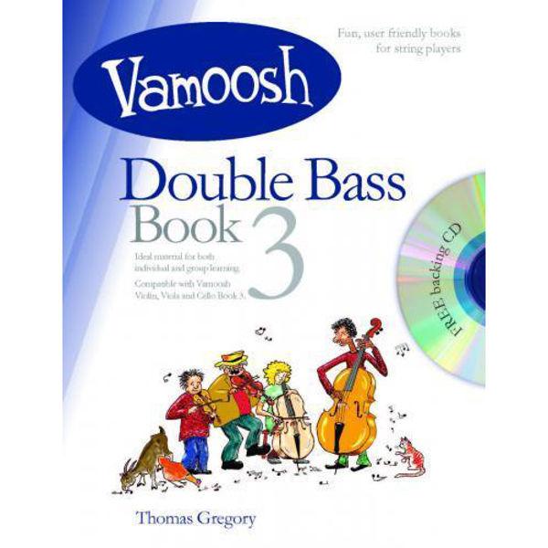 Vamoosh Double Bass Book 3 (Book & CD)