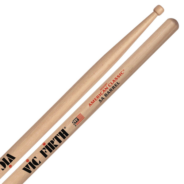 Trommestikker Vic Firth American Classic 5ABRL Hickory, Wood Tip