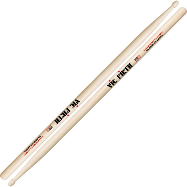 Trommestikker Vic Firth American Classic 5AKF Hickory, Wood Tip