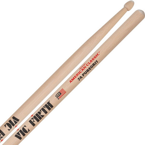 Trommestikker Vic Firth American Classic 7APG Hickory, Puregrit, Wood Tip