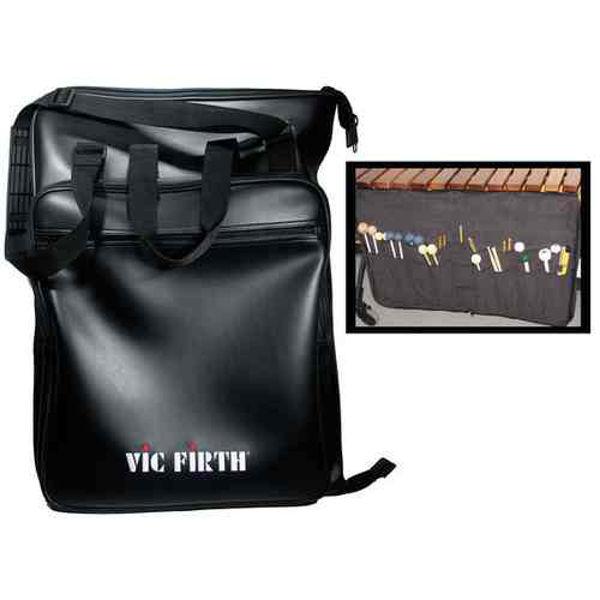 Stikkebag Vic Firth CKBAG, Concert Mallet Bag, Black