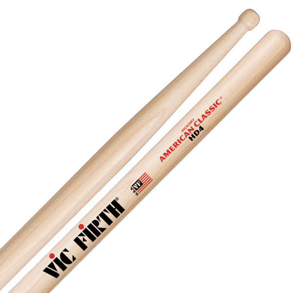 Trommestikker Vic Firth American Classic HD4 Hickory, Wood Tip