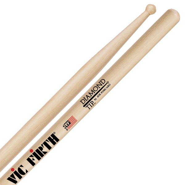 Trommestikker Vic Firth Signature Joe Porcaro JPH5A, Hickory, Wood Tip