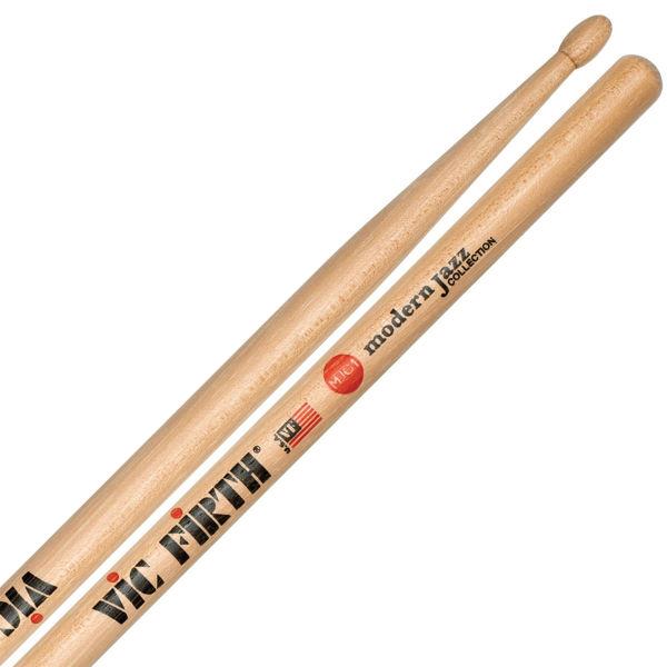 Trommestikker Vic Firth Modern Jazz Collection MJC1 Hickory, Wood Tip