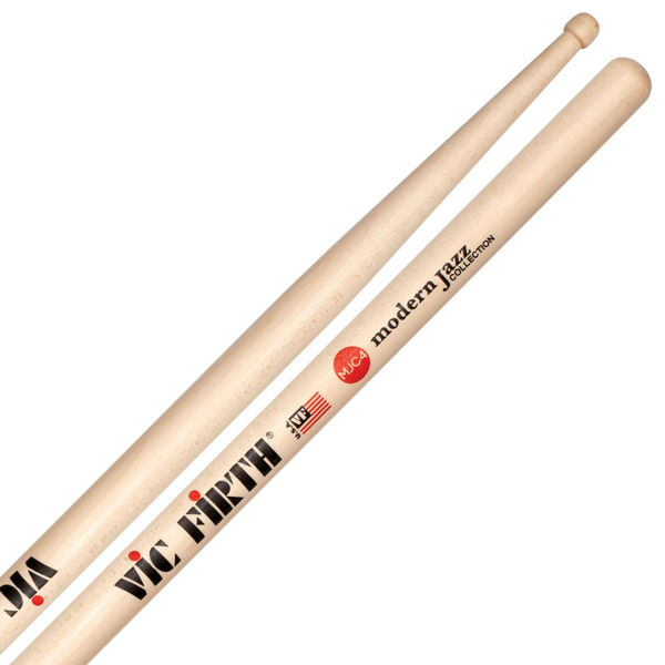 Trommestikker Vic Firth Modern Jazz Collection MJC4 Maple, Wood Tip