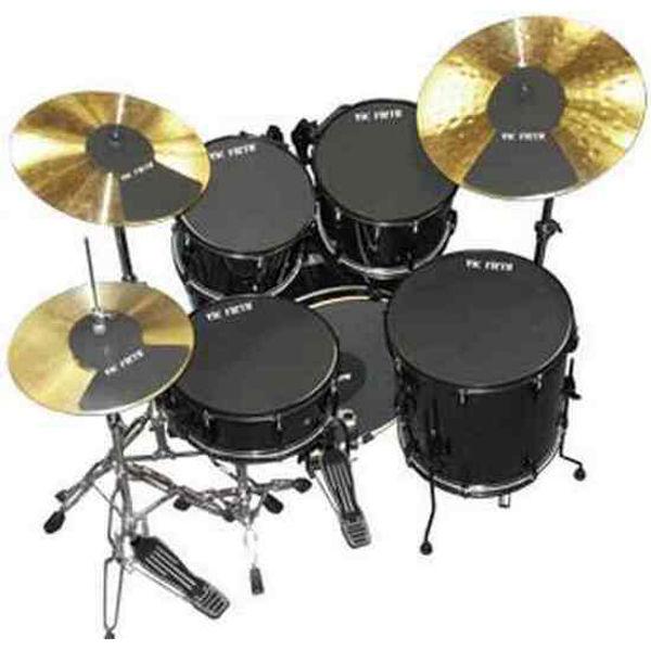 Dempepadsett Vic Firth Mute-PP4, 10-12-14-14-22, Drum Set Mutes