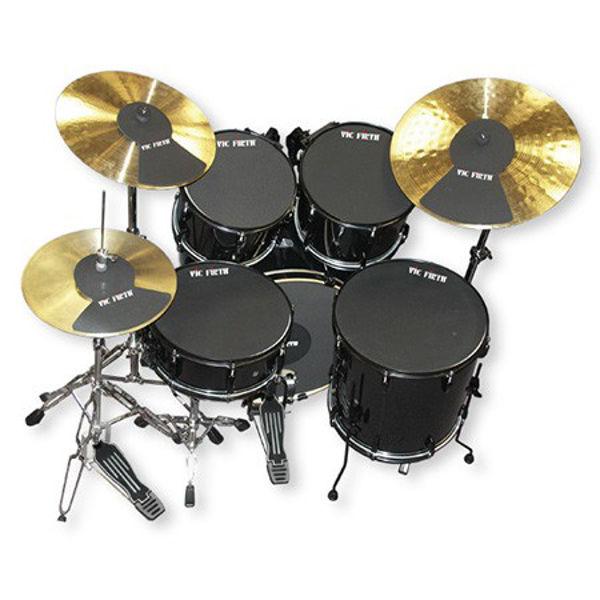 Dempepadsett Vic Firth Mute-PP7, 10-12-14-14-18, Drum Set Mutes