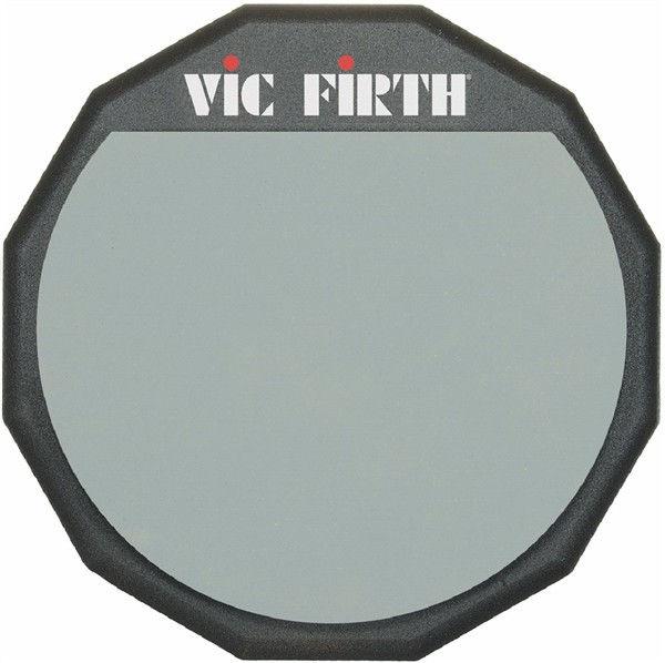 Trommepad Vic Firth PAD6, Gummi 6, 8mm Gjenger