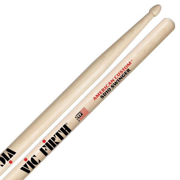 Trommestikker Vic Firth American Custom SD10 Swinger Maple, Wood Tip