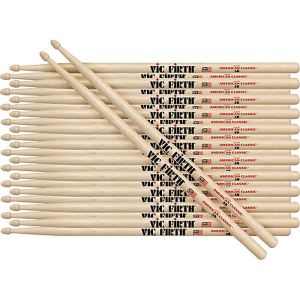 Trommestikker Vic Firth American Custom SD2 Bolero, Maple, Wood Tip, 12 Par