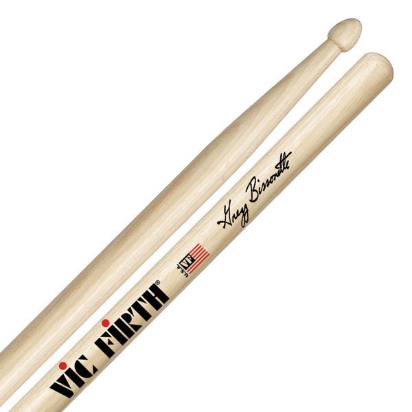 Trommestikker Vic Firth Signature Gregg Bissonette SGB, Hickory, Wood Tip