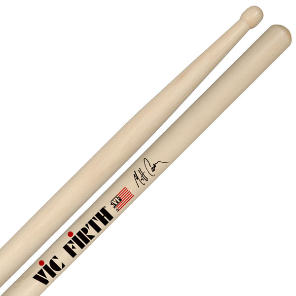 Trommestikker Vic Firth Signature Matt Cameron SMC, Hickory, Wood Tip
