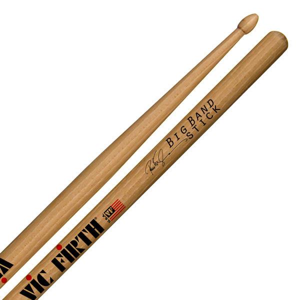 Trommestikker Vic Firth Signature Peter Erskine SPE3, Big Band, Hickory, Wood Tip