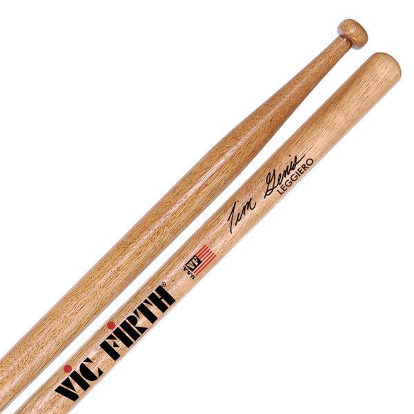 Trommestikker Vic Firth Signature Tim Genis STG2, Leggiero, Persimmon, Wood Tip