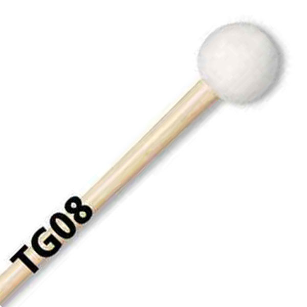 Stortrommeklubbe Vic Firth TG08, Tom Gauger, Staccato, Maple Handle