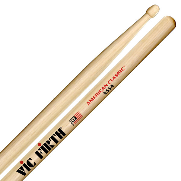 Trommestikker Vic Firth American Classic X55A Extreme, Hickory, Wood Tip
