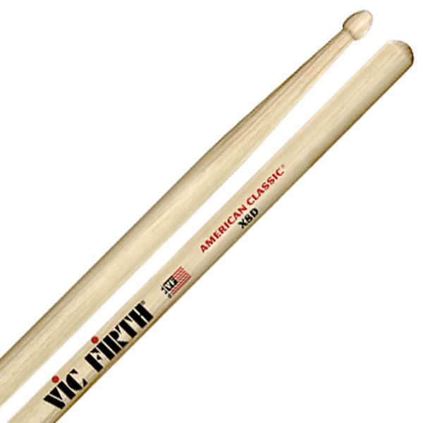 Trommestikker Vic Firth American Classic X8D, Extreme Hickory, Wood Tip