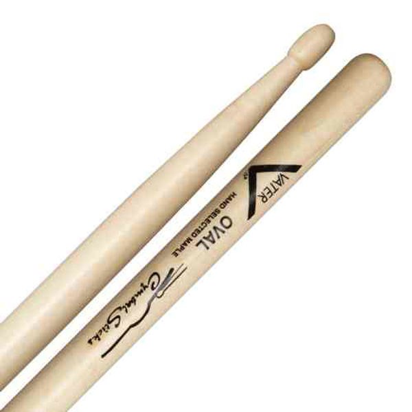 Trommestikker Vater Cymbal Stick Oval, VMCOW, Wood Tip
