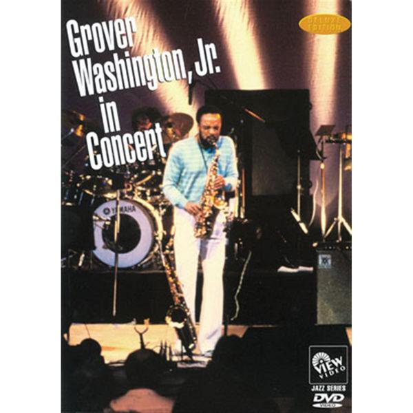 DVD Grover Washington JR, In Concert