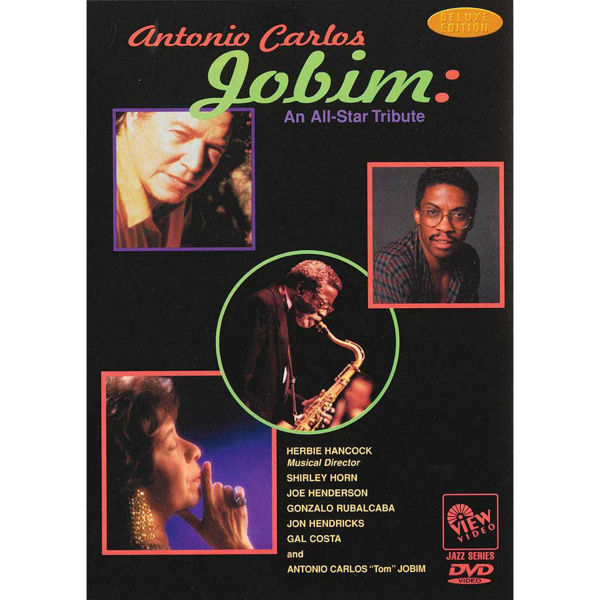 DVD Antonio Carlos Jobim, An All Star Tribute
