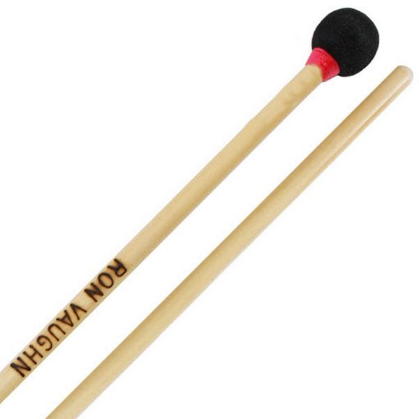 Woodblock-Mallet Ron Vaughn Percussion WM-1R, Rattan