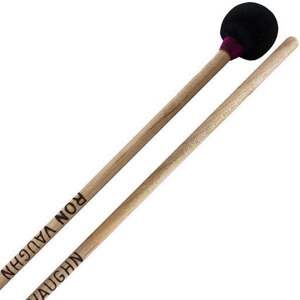 Woodblock-Mallet Ron Vaughn Percussion WM-3R, Rattan