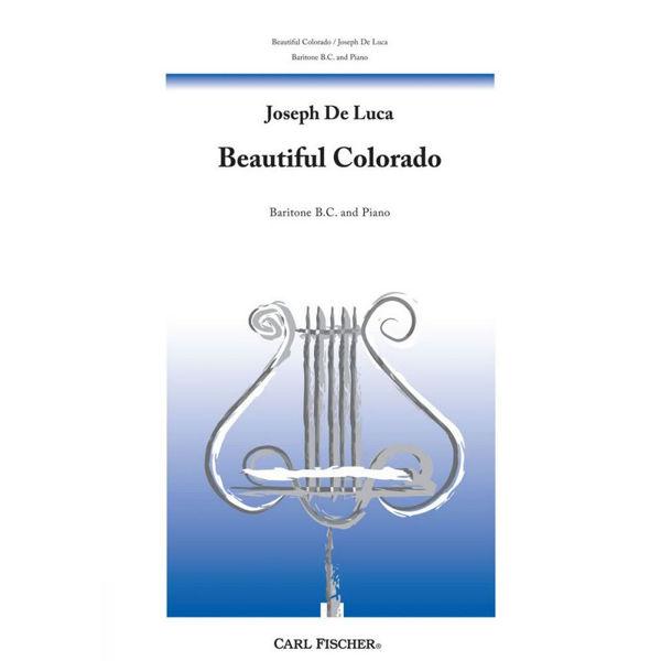 Beautiful Colorado (Valse Caprice), Joseph De Luca. Euphonium BC and Piano