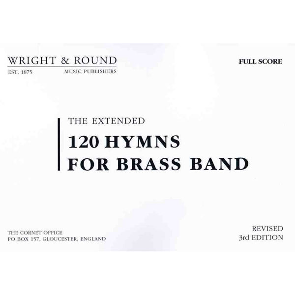 120 hymns for Brass band Full page score A4