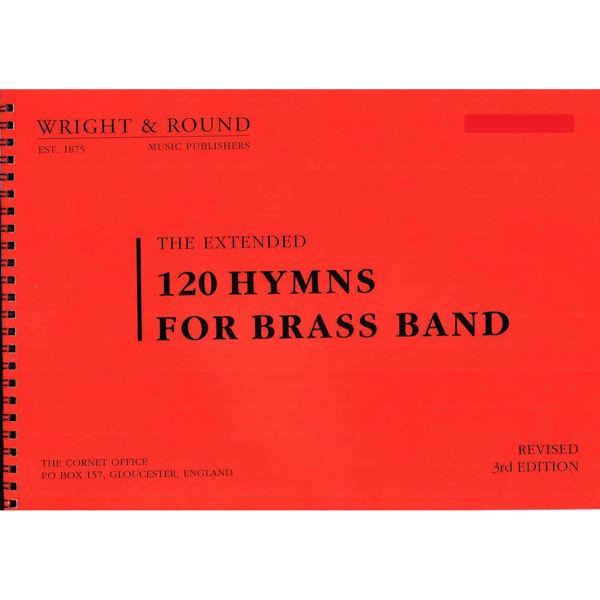 120 hymns for Brass band Bb Bass A4
