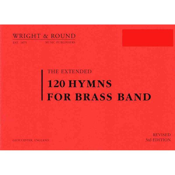 120 hymns for Brass band Timpani A5 Standardformat