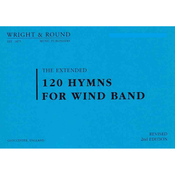 120 hymns for Wind band 1st & 2nd Flute/Piccolo A5 Standardformat