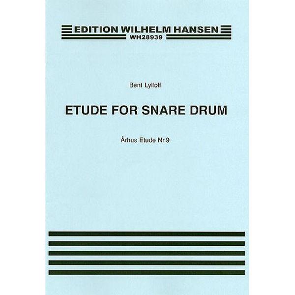 Århus Etude For Snaredrum No. 9, Bent Lylloff