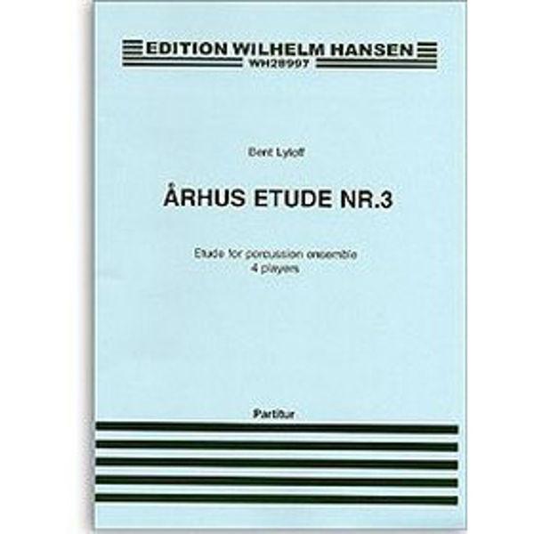 Århus Etude NR 3, Lylloff, 4 Players