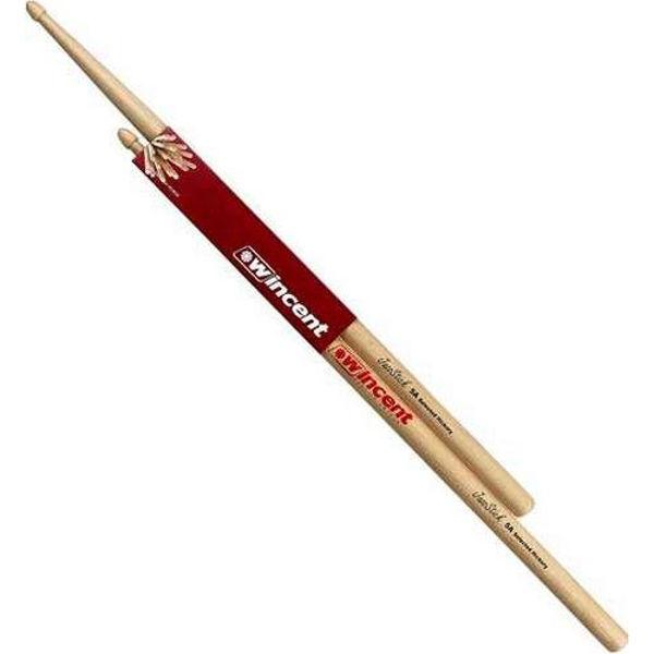 Trommestikker Wincent Hickory Standard Jazz JS5A, Wood Tip