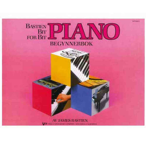 Bastien Bit for Bit Begynnerbok, Piano