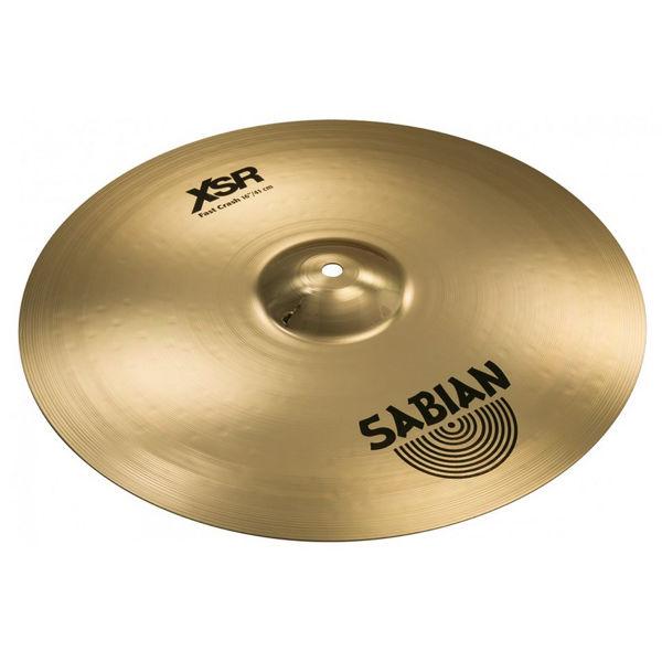 Cymbal Sabian XSR Crash, Fast 16, Brilliant