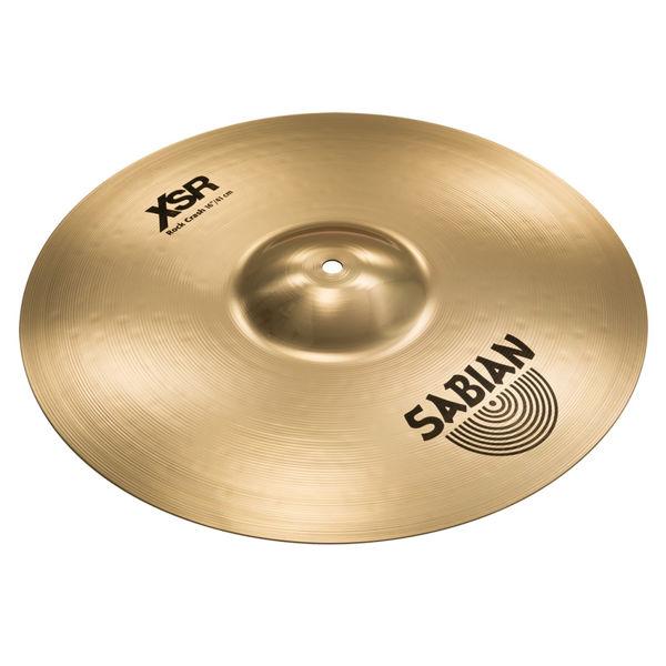 Cymbal Sabian XSR Crash, Rock 16, Brilliant