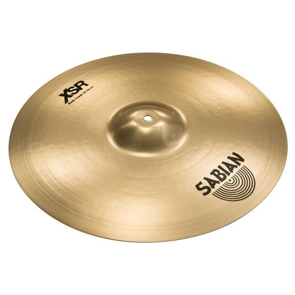 Cymbal Sabian XSR Crash, Rock 18, Brilliant