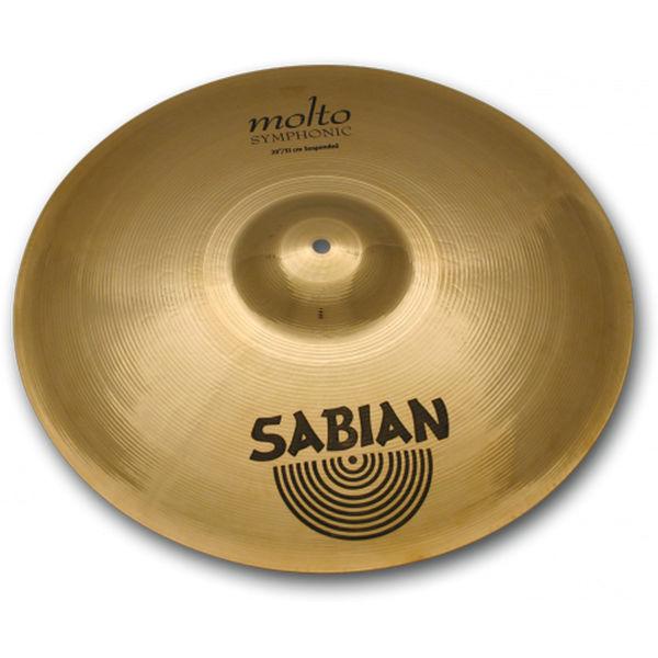 Cymbal Sabian XSR Crash, Suspended 18, Brilliant