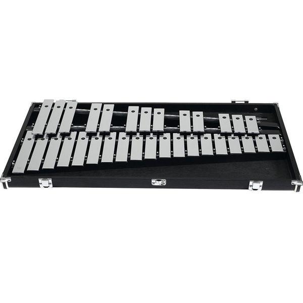 Klokkespill Yamaha YG-250D, 2,5 Okt. 30x5mm Steel Bars