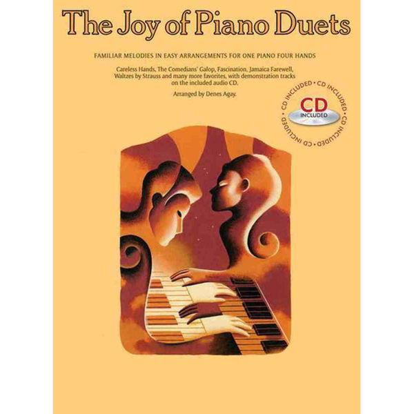 Joy of piano duets - Book/CD - Agay
