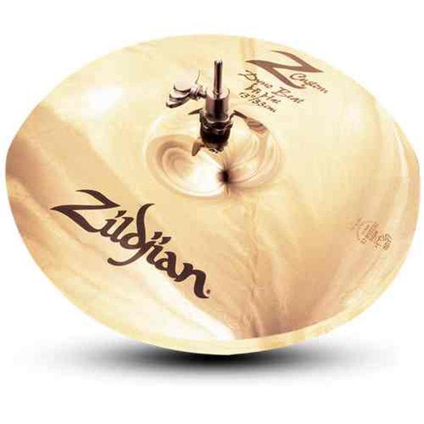 Hi-Hat Zildjian Z. Custom, Dyno-Beat 13, Brilliant, Pair