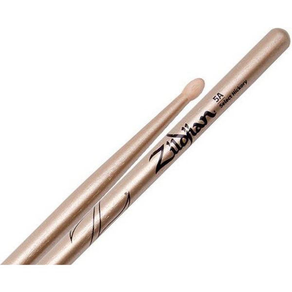 Trommestikker Zildjian Chroma Gold Z5ACS, Hickory, Wood Tip