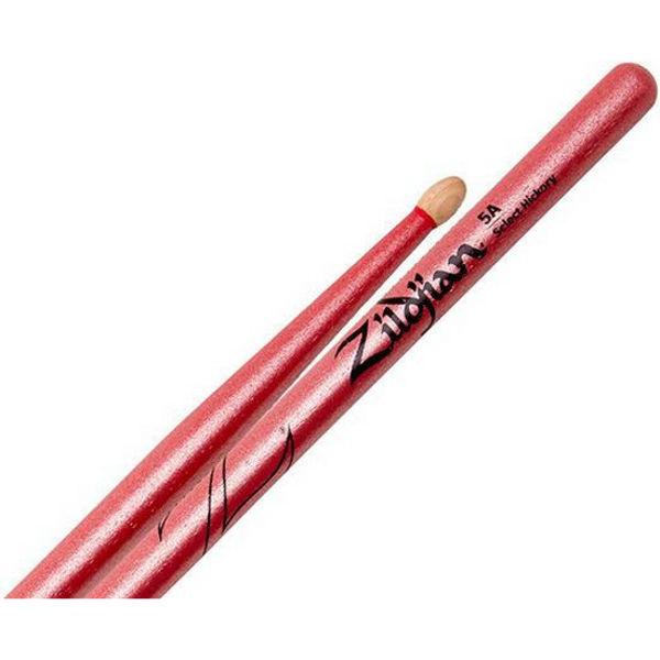 Trommestikker Zildjian Chroma Pink Z5ACP, Hickory, Wood Tip