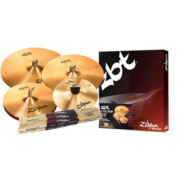 Cymbalpakke Zildjian ZBT ZBTP108 Promo Pack Plus, 14-16-20 + 8