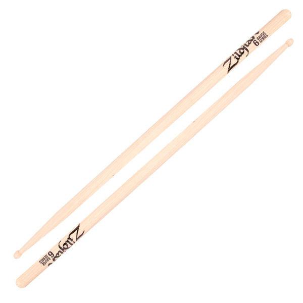 Trommestikker Zildjian Gauge ZGS6 , Hickory, Wood Tip