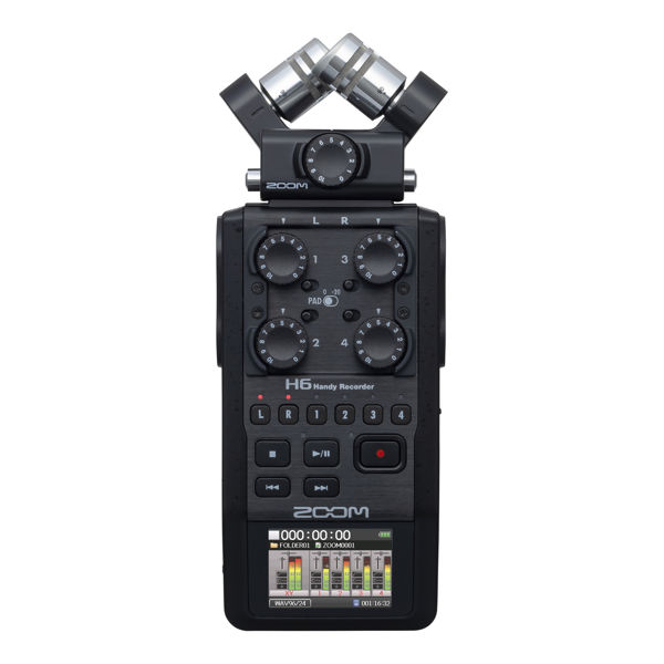 Zoom H6 Opptaker, Six -Track Portable Recorder