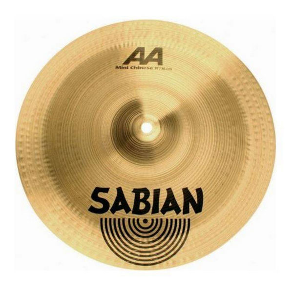 Cymbal Sabian AA China, Mini 14, Brilliant