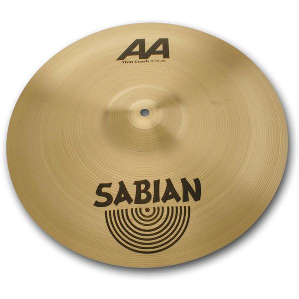 Cymbal Sabian AA Crash, Thin 16